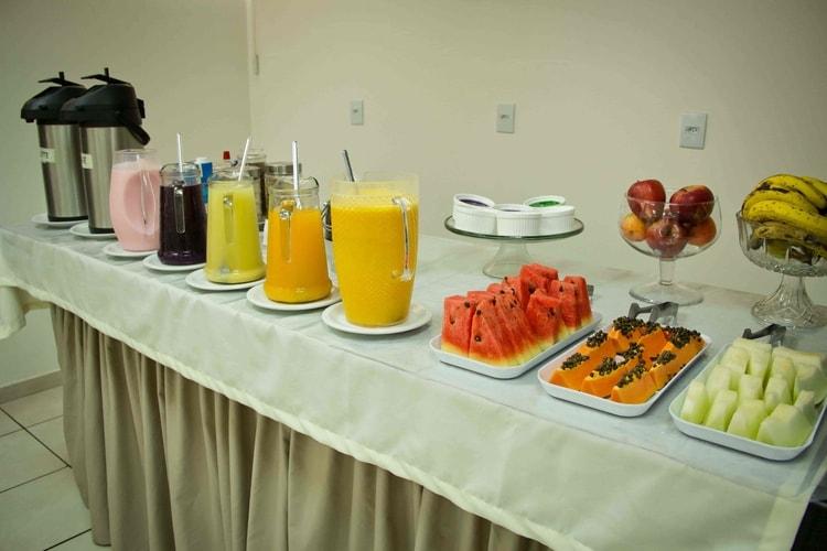 Café da manhã - Copaíba Hotel